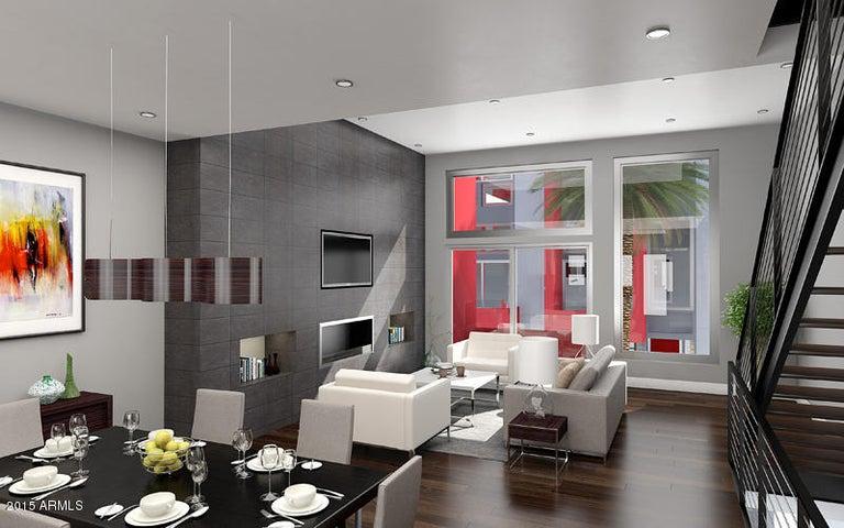 Main Living Level Includes Hardwood Flooring 11 Ft Ceilings