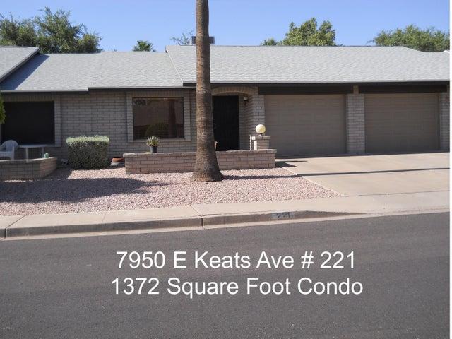 7950 E KEATS Avenue, 221, Mesa, AZ 85209