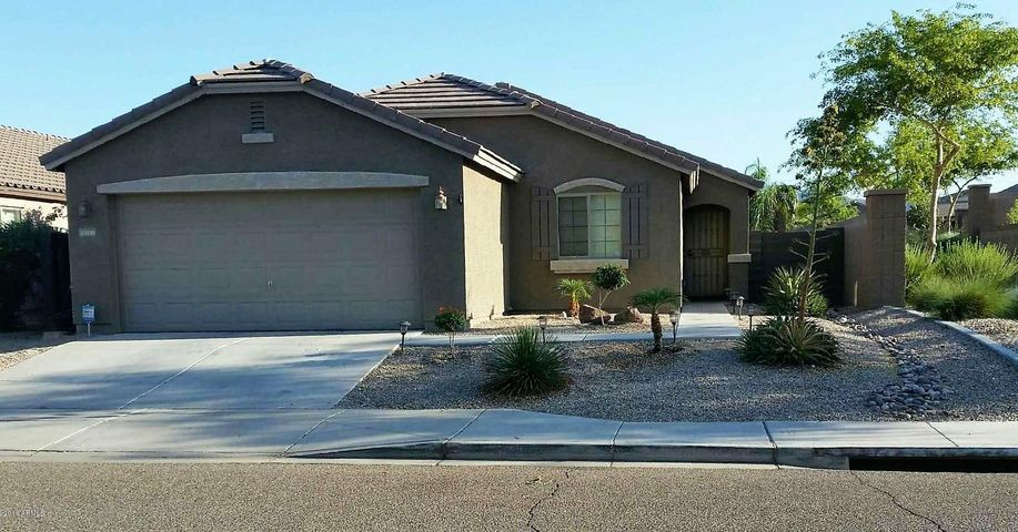 Excellent curb appeal with north south exposure