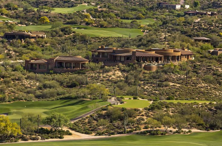 Located on over 2 acres in the heart of Desert Mountain's golf courses