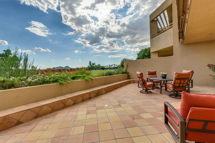 Enjoy golf course and mountain views from your spacious patio!