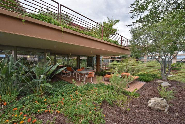 Fantastic entertaining patio with views of the pool and the McDowell Mountains!
