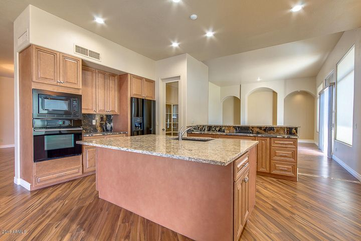 Beautiful solid wood cabinets