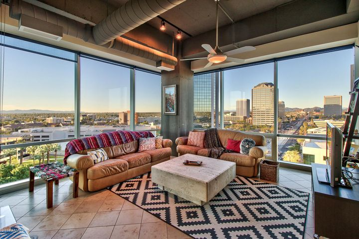 Loft-style condo with views for days
