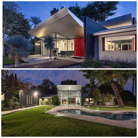 Iconic, one-of-a-kind modern home in the heart of uptown.