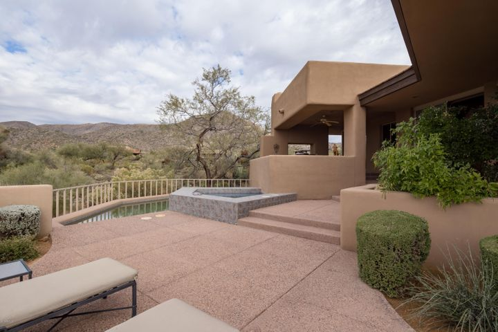 Patio with views - great for entertaining
