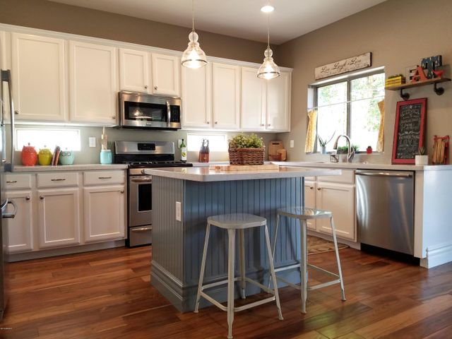 """This remodeled Kitchen screams """"WOW"""" ..."""