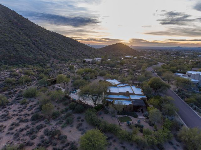 Maka Ina by Bill Tull Nestled on Over 3 Acres in the McDowell Mountains