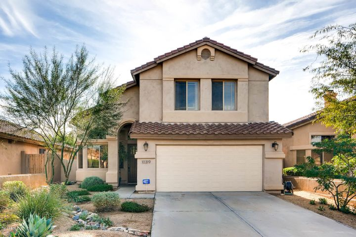 Great curb appeal and easy to maintain yard.