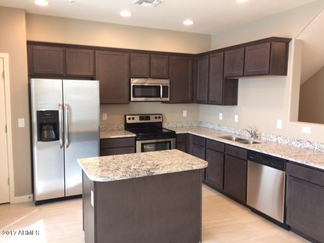 Unit 1059- Ladera has stainless steel appliances and window coverings.