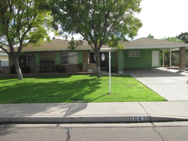 1843 E OXFORD Drive, Tempe, AZ 85283