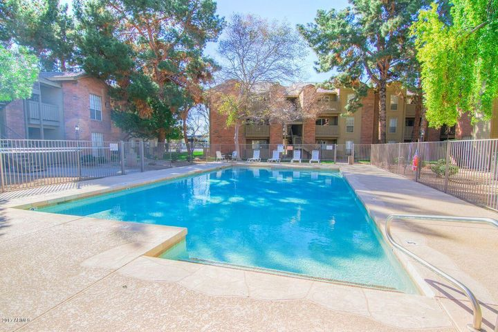 Community Pool is just a few steps from the front door!