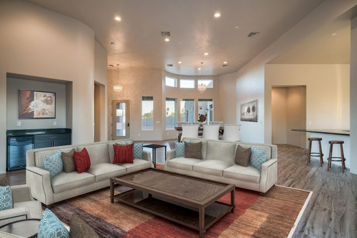 Open Space for Entertaining