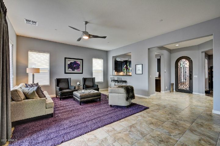 Exquisite great room plan with high-end finishes