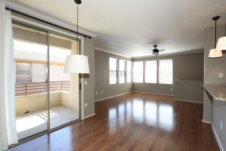 Beautiful laminate Wood floors, and plenty of natural light in the Great Room!