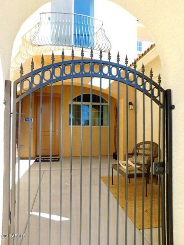 This courtyard entrance is included and stunning!
