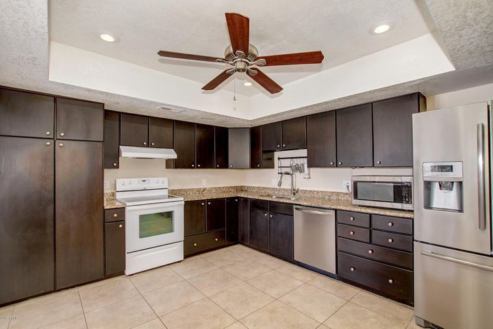 Updated kitchen with all appliances included!