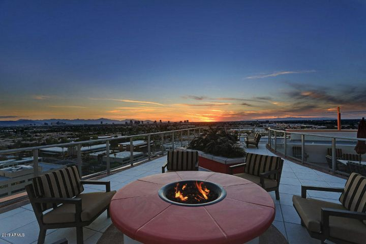 Roof-top Fireplace