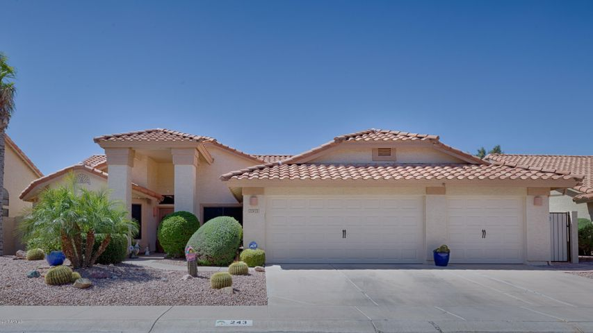 243 E STONEBRIDGE Drive, Gilbert, AZ 85234