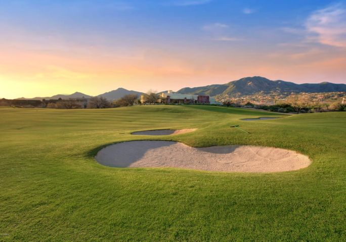 Fairway, Sunset and City Light Views on the Apache Golf Course