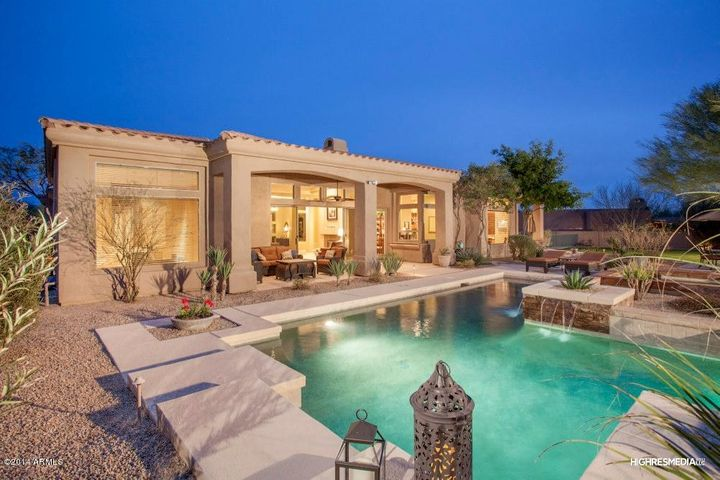 Pretend you are at one of Scottsdale's finest resorts while relaxing in your own backyard.
