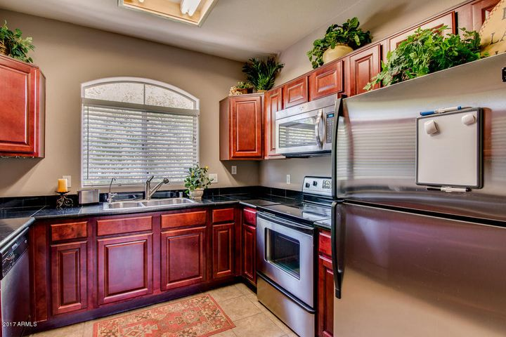 Updated Cherry Cabinets & Granite Counters