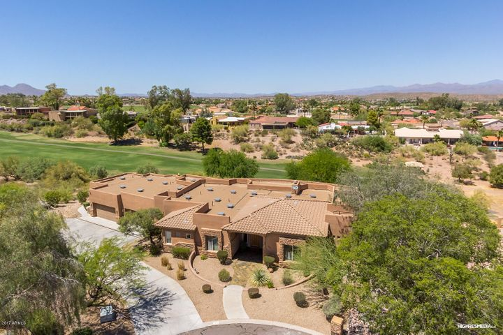 Property Overlooks Desert Canyon Golf Club with Mountain Views