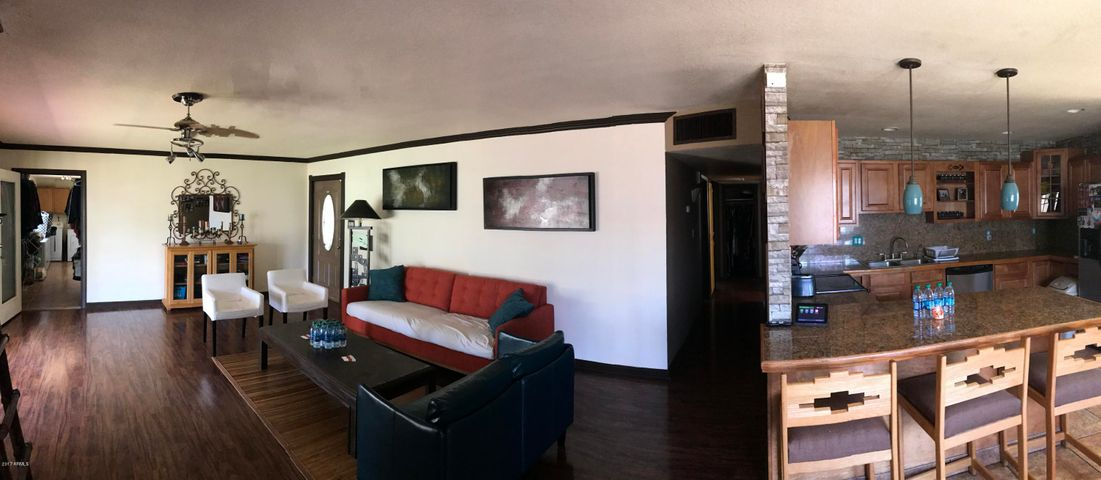 Kitchen - Living Room - Front Door