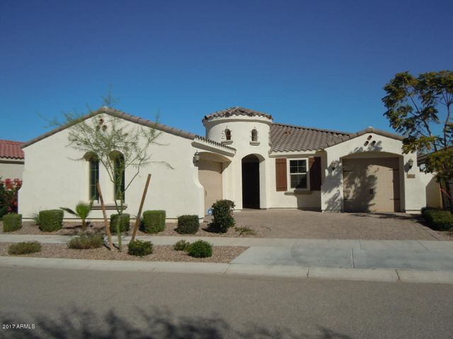 Front view of the home. Double Garage is on the left and single garage on the right
