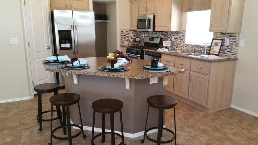 Extended Island for seating in your ALL NEW Chef's Kitchen!!