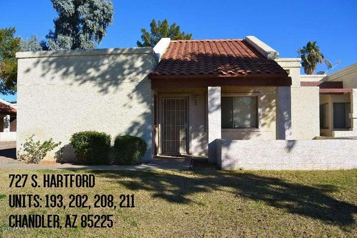 727 S HARTFORD Street, 202, Chandler, AZ 85225