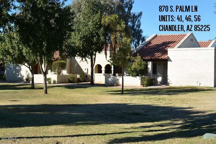 870 S Palm Lane, 56, Chandler, AZ 85225