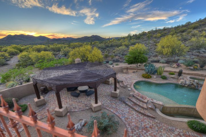 Views! Privacy! Backing to Sonoran Desert Preserve! The privacy of this resort backyard and views are incredible!