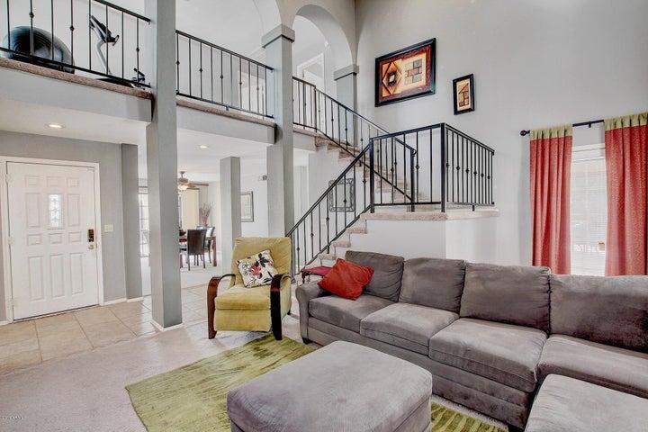 Living Room/ Front Entrance