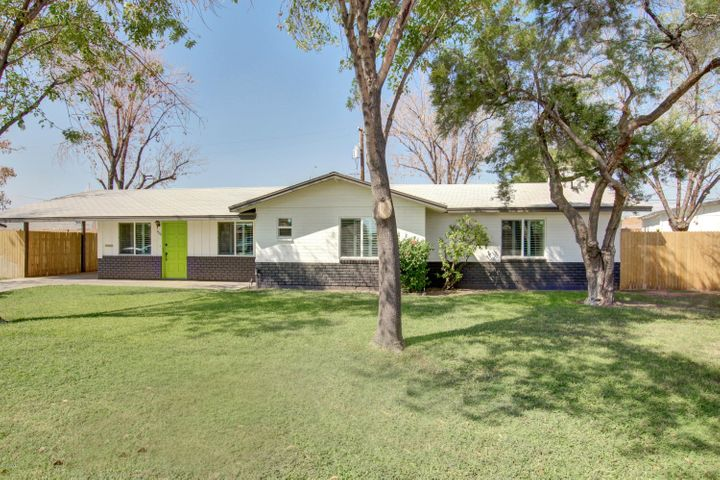 South Facing Mid Century Home, completely remodeled in St Gregory Neighborhood
