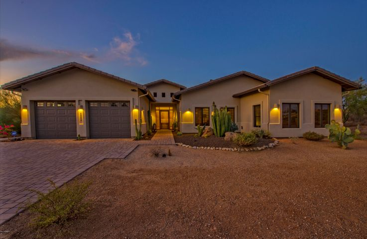 Welcome Home to your peaceful piece of the high sonoran tranquil desert.