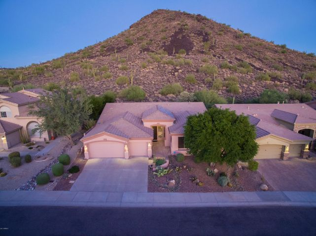 Mountain Views, serene setting, 3 car garage, McDowell foothills, Scottsdale, 85259
