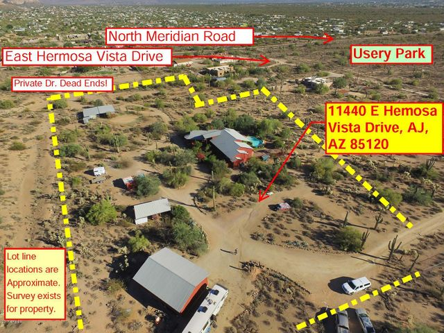 11440 E Hermosa Vista - The Site is rectangular and consists of 3.67 +/- Acres