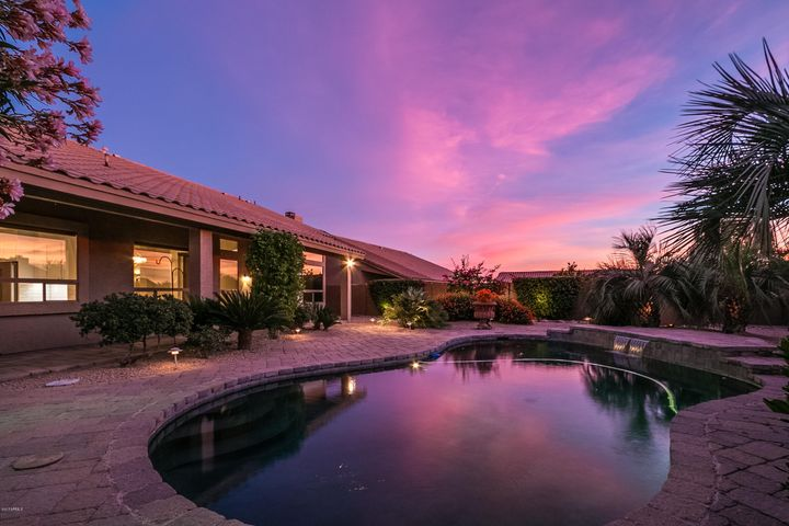 SPECTACULAR SUNSETS ARE COMMON ON THIS CORNER LOT!