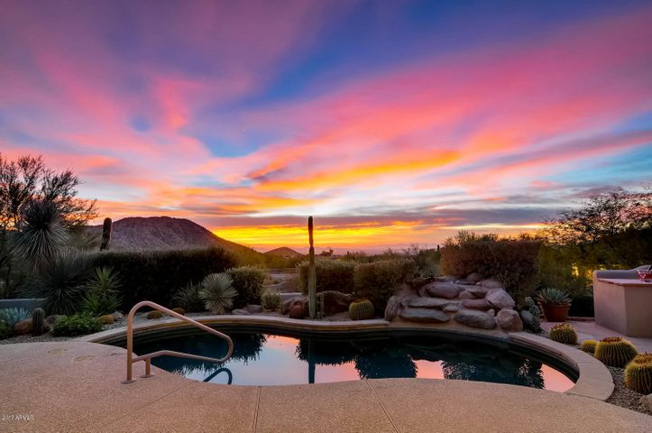 Sunsets like no others - from your own patio - your kind of beautiful.