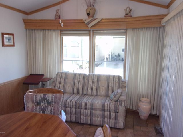 This home can sleep 6 comfortable. Sleeper is in formal dining area