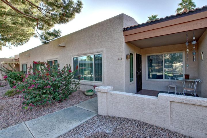 This unit is close to it's parking space and has a north facing patio.