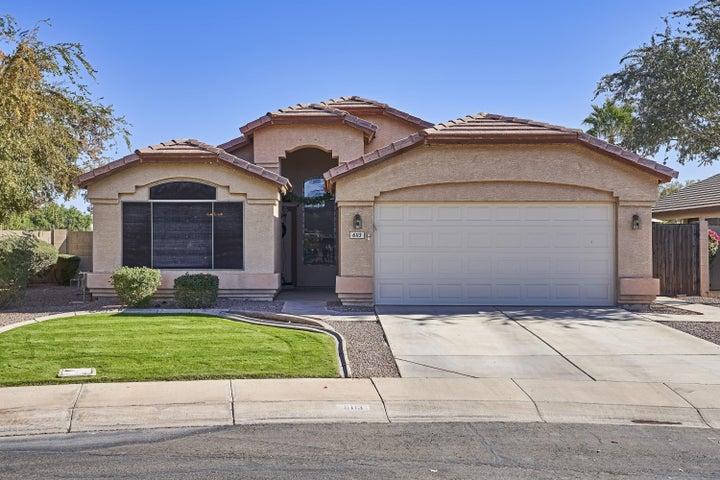 6113 S Crystal Way, Chandler, AZ 85249