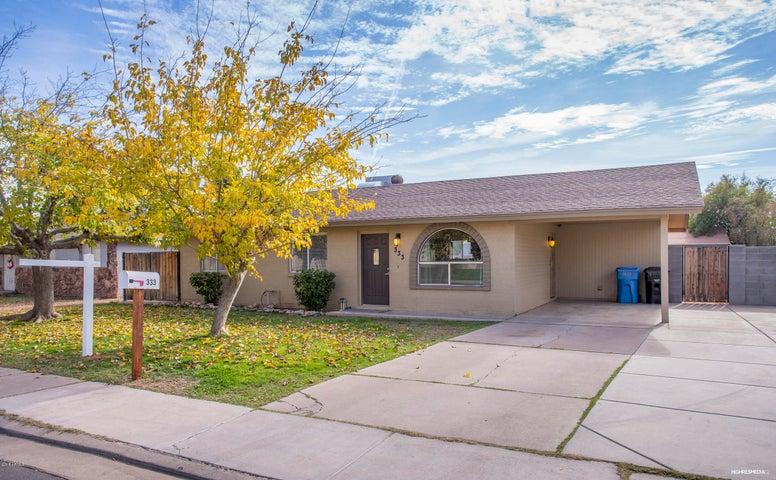 333 E CULLUMBER Avenue, Gilbert, AZ 85234