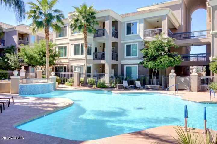 Resort-like living at it's best. Close to restaurants, freeway access, ad light rail.
