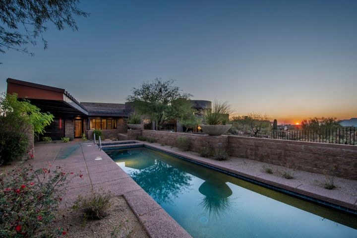 Stunning, one-of-a-kind home home designed by acclaimed architect features sophisticated design elements and maximum solar efficiency.