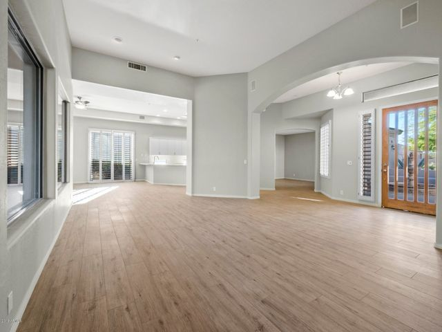 Wood Look tile throughout living areas