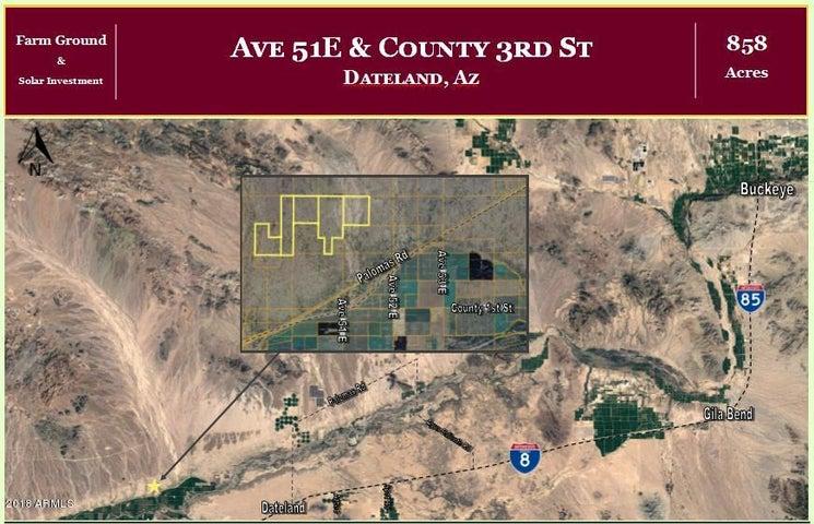 000 Ave 51E & Co 3rd Street, -, Dateland, AZ 85333