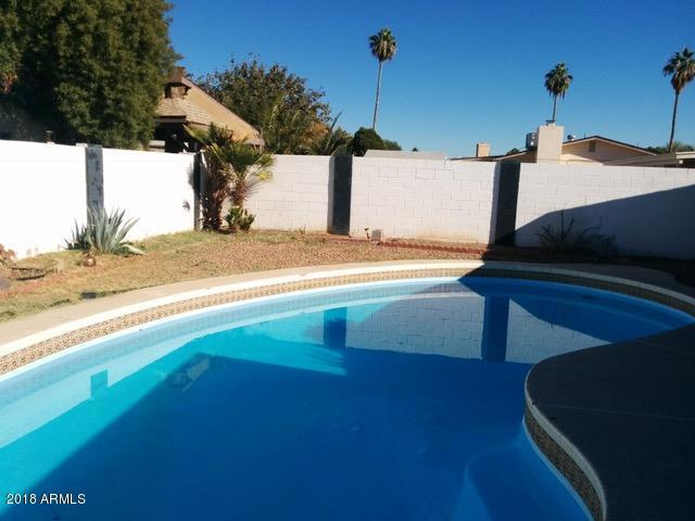 Sparkling pool ready to be enjoyed