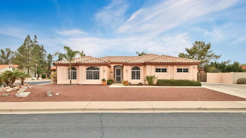 Great home on large corner lot.